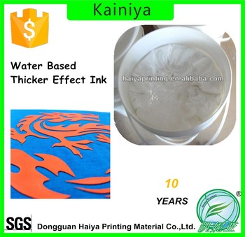2017 water based rubber white paste for garment in with thicker effect india