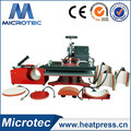 Best selling 8 in 1 multifunctional heat press machine ECH-800 for Caps