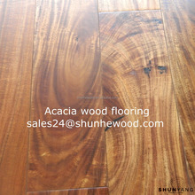 2017 New Arrival Acacia Handscraped Hardwood Floors