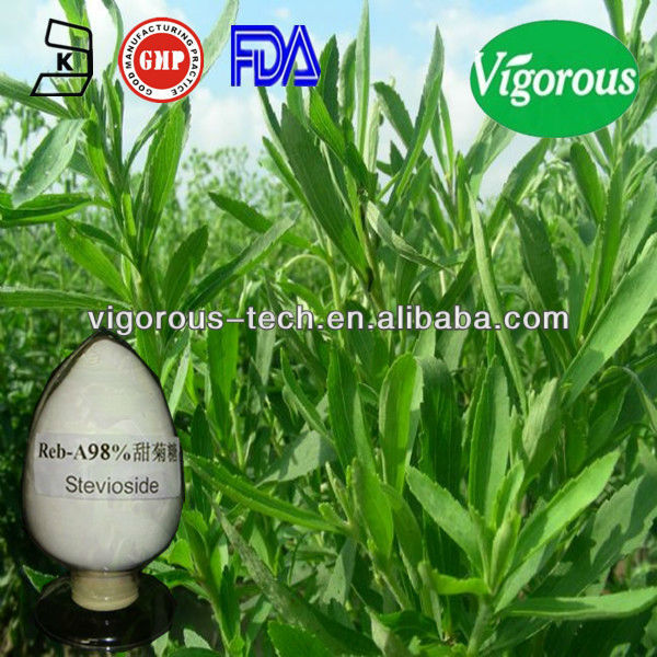 extraction stevia plant/stevia extract rebaudioside a stevioside