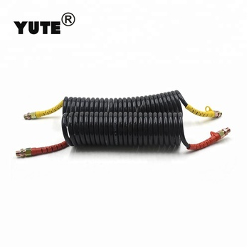 Professional SAE J844 nylon coil air brake hose tubing for truck brake systems