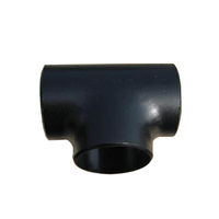 Ansi B16.9 Seamless Carbon Steel 2'' Std Pipe Fitting Butt Welded Equal Tee