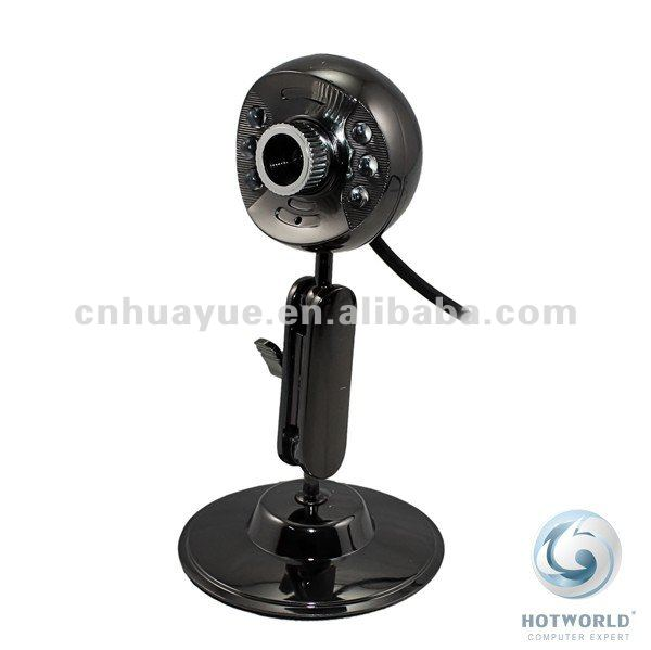 350k pixels pc webcam with light with mic