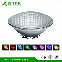 12V/24V 24w IP68 RGB par56 swimming led pool light led underwater light with remote/wifi control