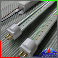 transparent/ milky T5 LED tube light,T5 LED tube 4W 240-280Lm,24led/pcs smd 2835 T5 led tube