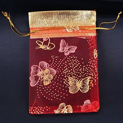 China organza bags whosale packing bag for gift packing