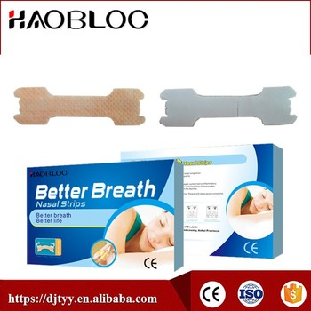 Breathe Right Nasal Strips, Treat Snoring Nose Strips
