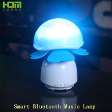clover Smart lamp hand touch bluetooth music Baby Night Light With High Qualiy