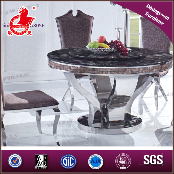 A8056 wholesale luxury round dining table