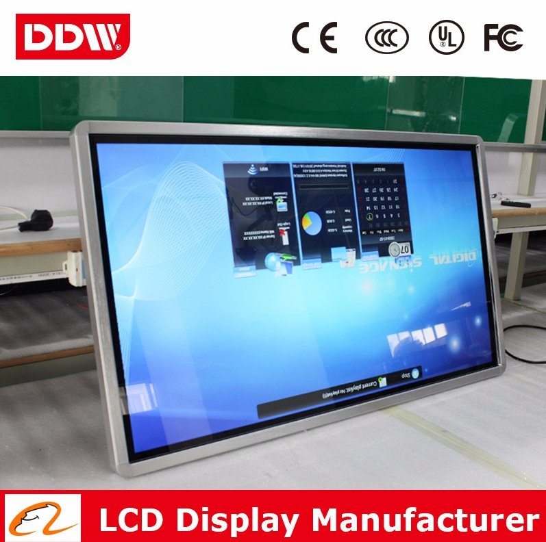 17inch 2016 HD video advertising full color led Wall mount digital signage advertising design