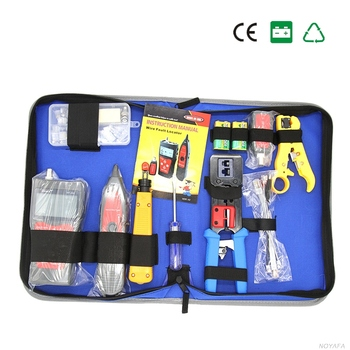NF-1504 LCD Cable Tester NF-300 Krone Punch Down Tool Network Repair Tool Kit