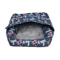 2016 New Fashion Dogs Cave House Cover Sofa Luxury Pet Products Waterproof folding dog bed cat house Cushion