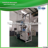 TURUI portable hammer mill pulverizer plastic glass pet bottle shredder crusher grinder machine offers