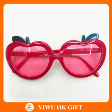 Apple shape funny party glasses