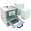 Semi automatic plastic film sealer