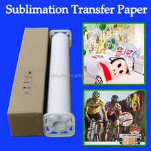80g factory supply sublimation black t-shirt transfer paper