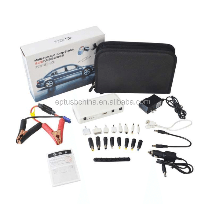 portable car jump starter power bank 14000mah