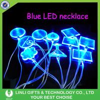 Plastic Led Flashing Christmas Light Necklace