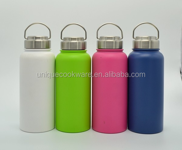 Unique Group Color Hydro Flask Wide Mouth Stainless Steel Lid Insulated Stainless Steel Insulated Water Bottle
