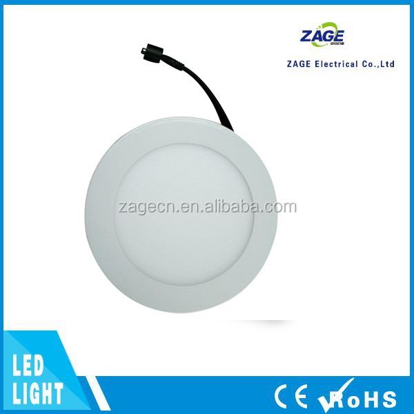 Round LED Flat Light No Flicker 12W LED Ceiling Panels Lighting
