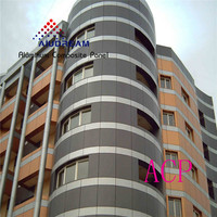 Alucobond composite aluminum panel for exterior cladding