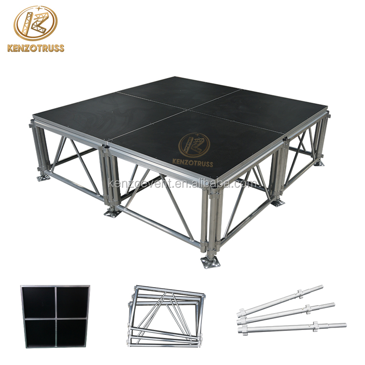Used Aluminum Portable Outdoor Concert <strong>Stage</strong> Sale
