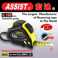 32G ASSIST manufactory new professional nice assist meter tape cover rubber new 5m measuring tape rubber tape measure