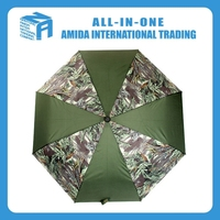 2015 top quality creative fashionable men's argyi camouflage Uv protection Windproof umbrella