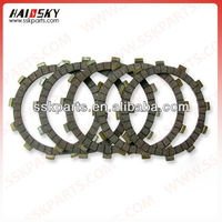 AX100 motorcycle parts for clutch disc assy for jincheng