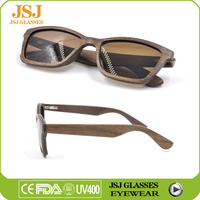2016 Newest High Quality Men Sunglasses Wooden UV400, Low Price CE Wood Eyeglasses Frame