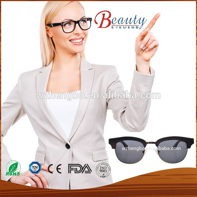 100% handmade bamboo and wood sunglasses wholesale dropship wholesale popular made in China