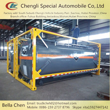 Hydrochloric acid,Sulfuric acid tank container, 20m3 chemical container