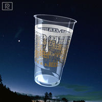 B568-T PLA pint 568ml biodegradable disposable - made plastic cup