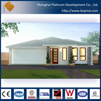 Contemporary Light Gauge Steel Single Storey Prefabricated House Australian Standard