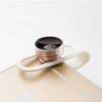 2 in1 lens kit 0.65x special wide angle macro lens no dark Corner for mobile phone camera