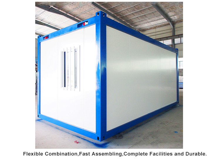recyclable prefab container house factory price for booth-2