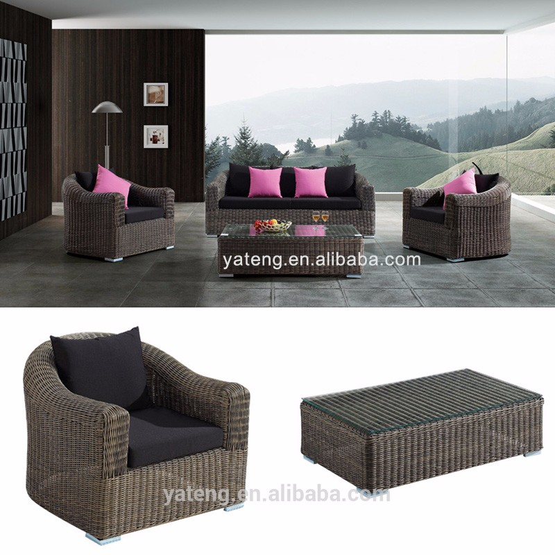 Affordable rattan patio furniture used balcony furniture for Affordable furniture company