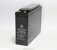 Front terminal 12V 100ah Rechargeable Sla Agm Battery used in telecom system
