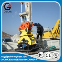 superior quality low price hydraulic excavator plate compactor