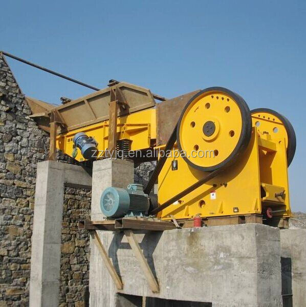PE/PEX Series Used in quarry primary Stone jaw crusher price