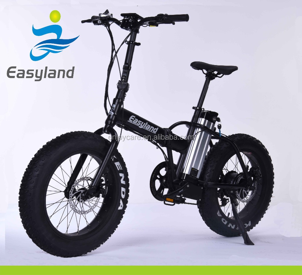 "48V Easyland Brushless Electric bicycle 20"" foldable 500W"