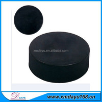 inline hockey puck, blank rubber ice hockey puck