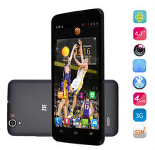 Hot Sale Cheapest Cell phone ZTE V5S quad core MTK6589 1G RAM 4G ROM 5.7'' screen 3G Low Price China Mobile Phone ZTE V5S