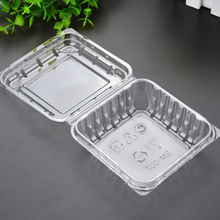 250g transparent blueberry box packaging clamshell Disposable Plastic Food Container