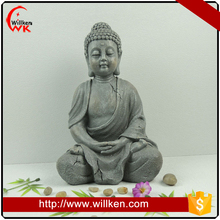 Stone grey color polyresin religious statues wholesale