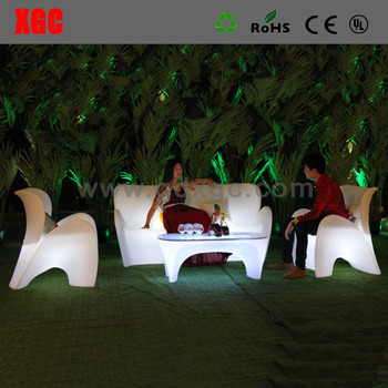 Starlish brand luxury glow sofa set for events
