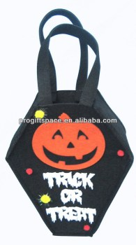 Handmade Decoration - Halloween Trick or Treat Bag - Halloween Pumpkin Bag Wholesale - OEM/ODM Welcomed