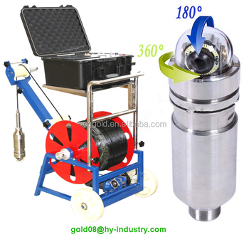 China Borehole Camera Water Well Inspection Camera /Borehole Inspection Camera/ Vertical Pipe Inspection Camera for Sale