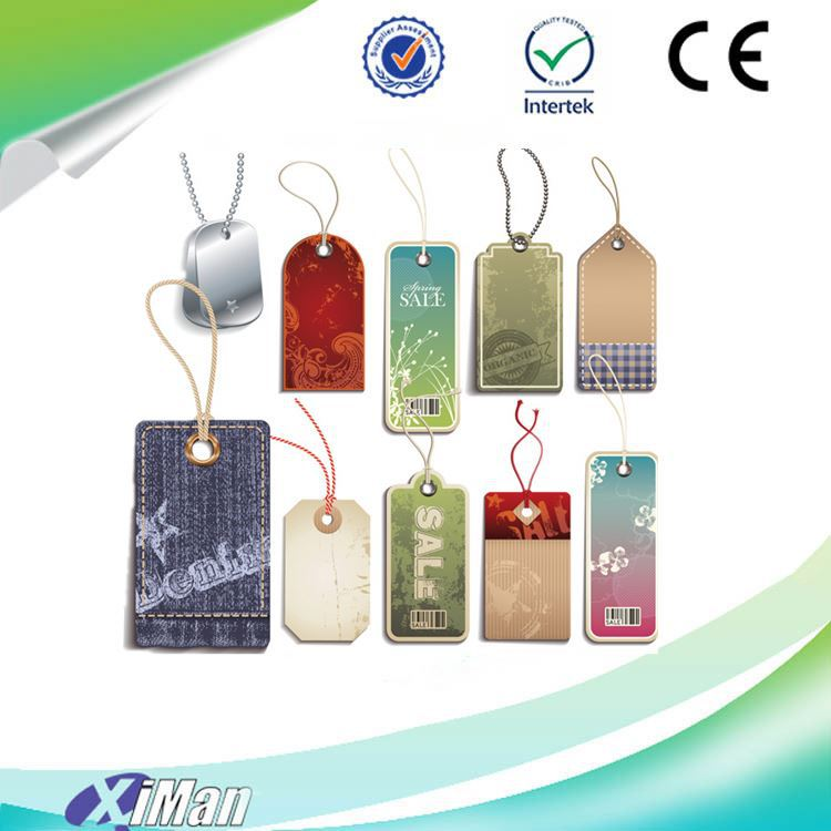 Professional unique Customized clothing hang tag, fancy hang tags factory