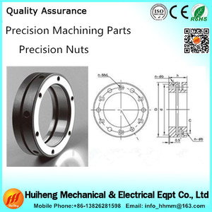 Electrical cnc machined parts precision bearing lock nut
